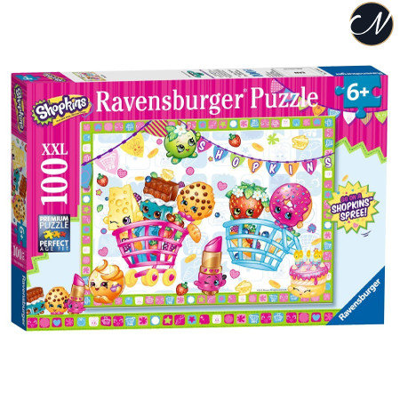Shopkins Ravensburger Puzzel 100