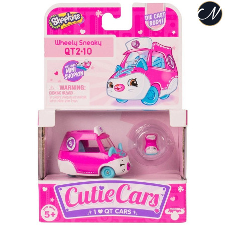 Cutie Cars Wheely Sneaky Single Pack