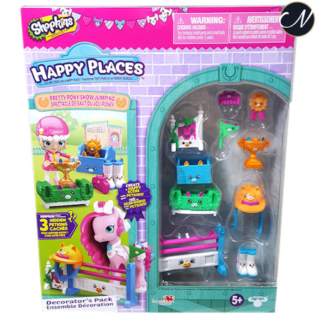 Pretty Pony Show Jumping Decorator Pack