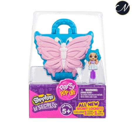 Lil' Secrets - Secret Locket Butterfly Nail Boutique