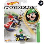 Luigi Standard Kart - Hot Wheels Mario Kart