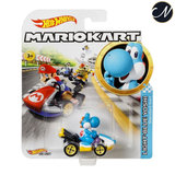 Light Blue Yoshi - Hot Wheels Mario Kart
