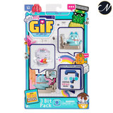 Oh My GIF! - 3 Bit Typing Away Catly Pack