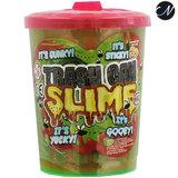 Trash can slime - Oranje