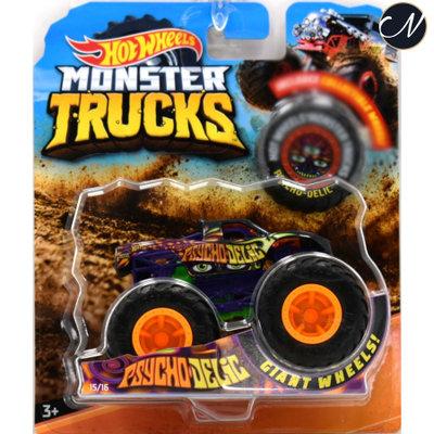 Monster Truck Psycho-Delic - Hot Wheels