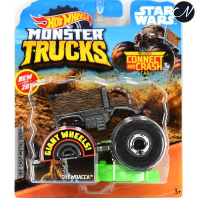 Monster Truck Chewbacca - Hot Wheels