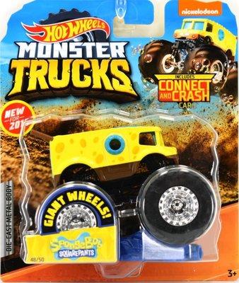 Monster Truck SpongeBob Squarepants - Hot Wheels