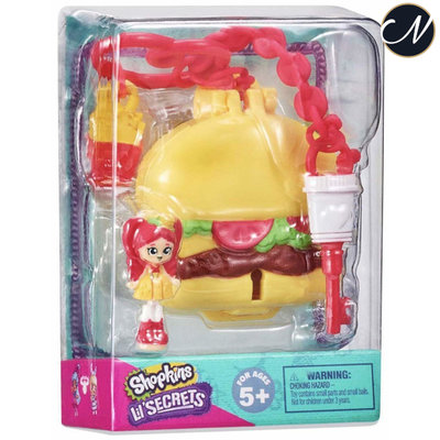 Lil' Secrets - Burger Bite Diner Secret Bag Tag Locket