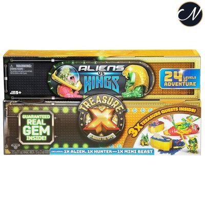 Treasure X - Aliens vs Kings Treasure Set