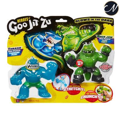 Heroes of Goo Jit Zu: Thrash vs Rockjaw Versus Pack