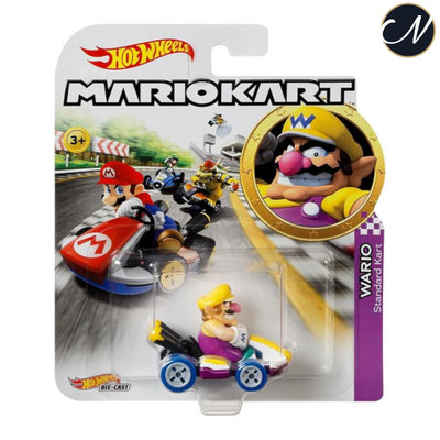 Wario - Hot Wheels Mario Kart