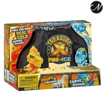 Treasure X - Fire vs Ice Hunters Pack