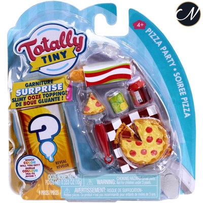 Totally Tiny Fun Pizza Party Mini Food Play Set