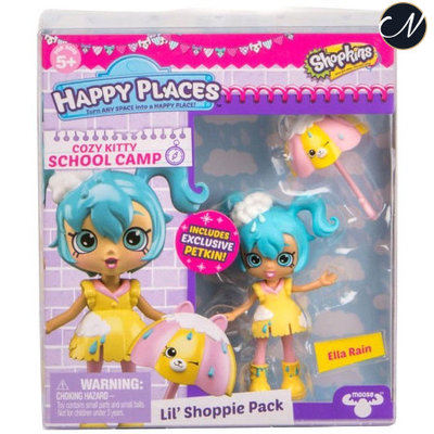 Ella Rain - Happy Places Lil' Shoppie Doll Pack