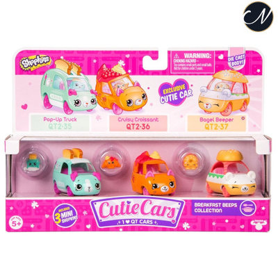 Cutie Cars Breakfast Beeps Collection Pack