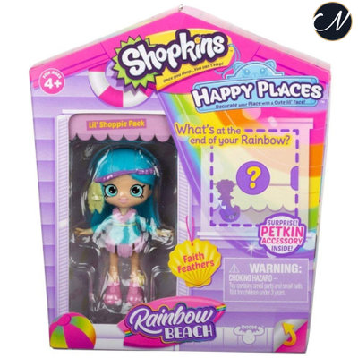 Faith Feathers - Happy Places Lil' Shoppie Doll Pack