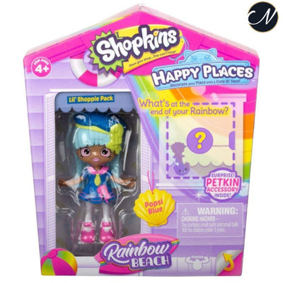 Popsi Blue - Happy Places Lil' Shoppie Doll Pack