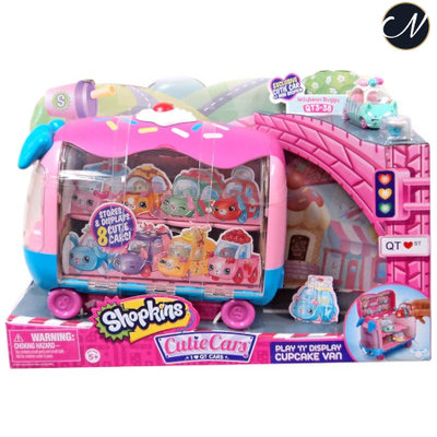 Cutie Cars Play 'n' Display Cupcake Van