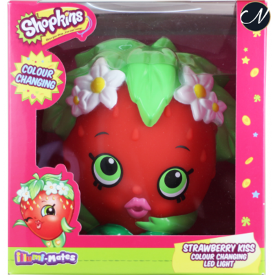 Shopkins Illumi-mate Strawberry Kiss Colour Changing Light