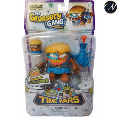 The Grossery Gang Powered Up Jock Slop Burger Season 5