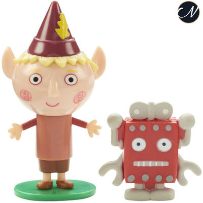 Ben en Holly - Barnaby with Robot Figure Pack