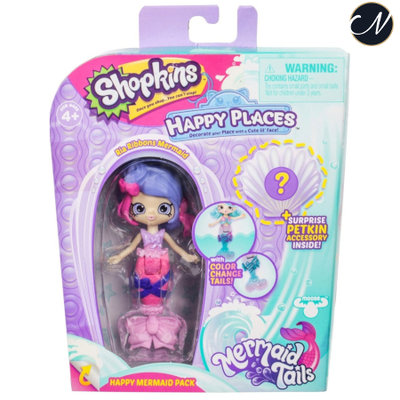 Ria Ribbons Mermaid - Happy Places Lil' Shoppie Doll Pack