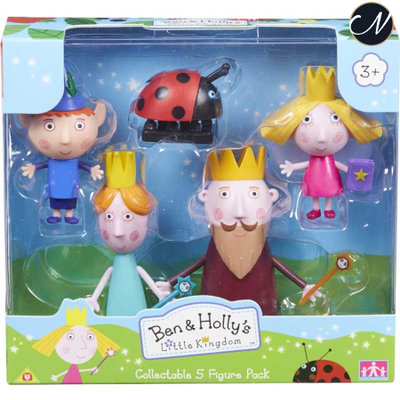 Ben en Holly - 5 Figure Pack