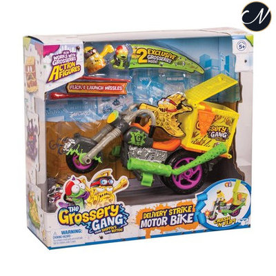 The Grossery Gang Delivery Strike Motorbike