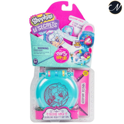 Lil' Secrets - Bubbling Beauty Day Spa Secret Lock