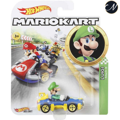Luigi - Hot Wheels Mario Kart