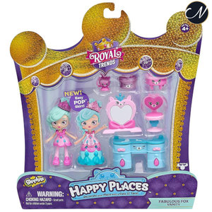Happy Places - Royal Trends Fabulous Fox Vanity Welcome Pack