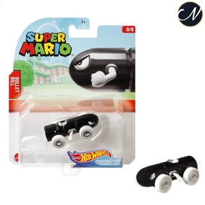 Bullit Bill - Hot Wheels Super Mario
