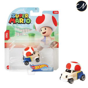 Toad - Hot Wheels Super Mario