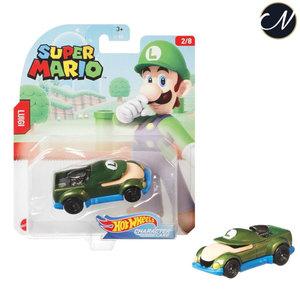 Luigi - Hot Wheels Super Mario