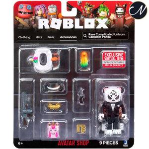 Roblox - Rare Complicated Unicorn Gangster Panda  Avatar Shop