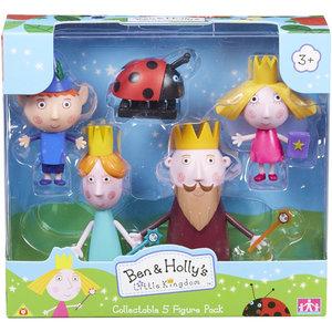 Ben en Holly - 5 Figure Pack