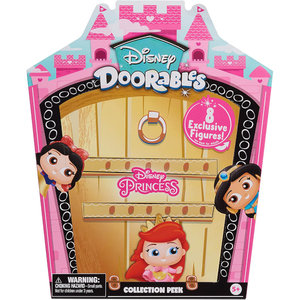 Disney Doorables Glitter and Gold Princess Collection Peek