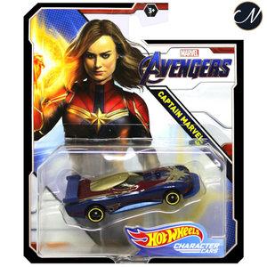 Avengers Captain Marvel - Hot Wheels