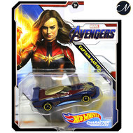 Avengers Captain Marvel - Hot Wheels