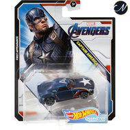 Avengers Captain America - Hot Wheels